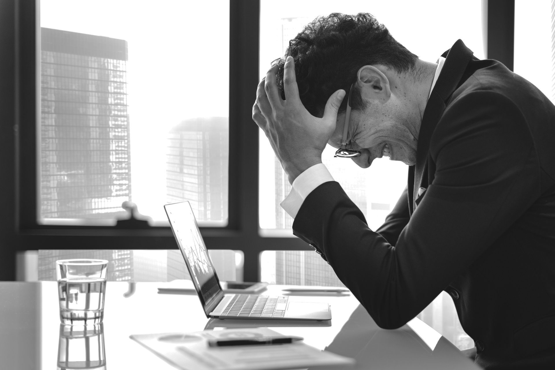 These 7 blog content mistakes can leave you as frustrated as this man.