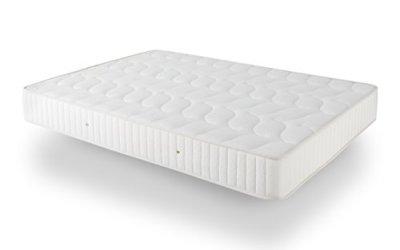 Dormio Ortopédico – Colchón de Eliocel, 135 x 190 x 24 cm, color blanco (Todas las medidas)