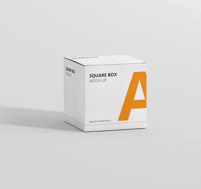 Download Box Mockup Square - Premium and Free Mockups for your Project