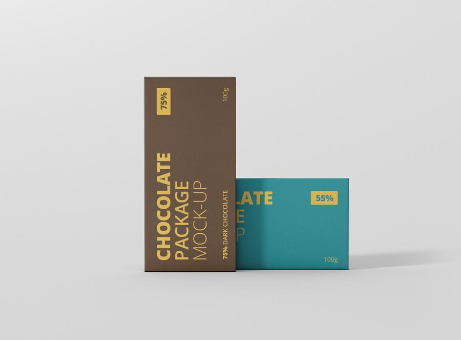 Download Chocolate Packaging Mockup - Premium and Free Mockups