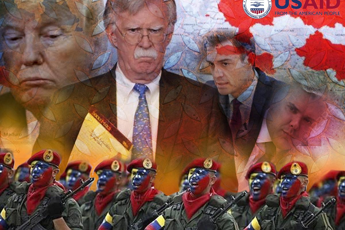 Resultado de imagen de Estados Unidos, terror y miendo contra Venezuela