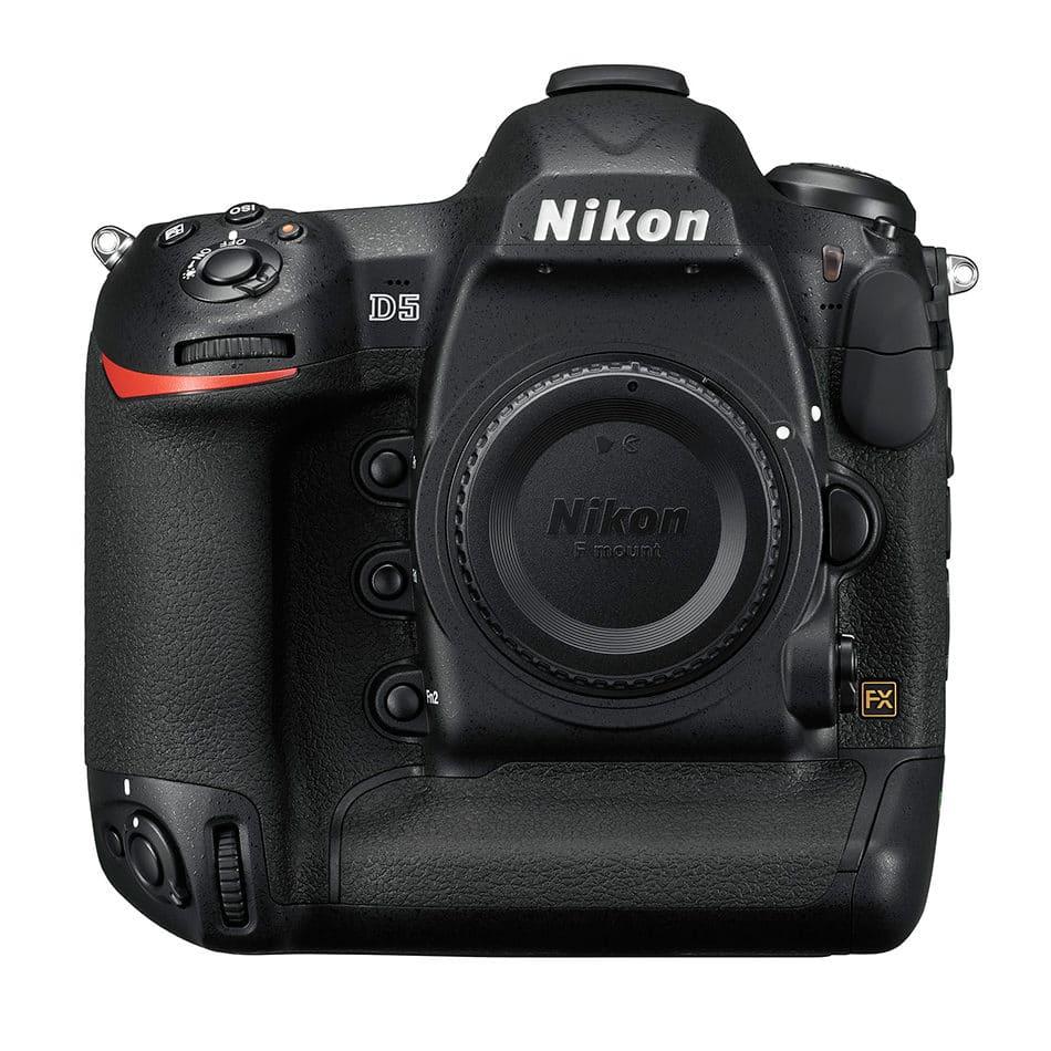 #2. Nikon D5 DSLR
