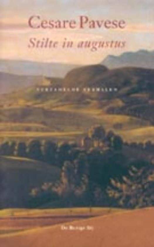 Stilte in augustus van Cesare Pavese