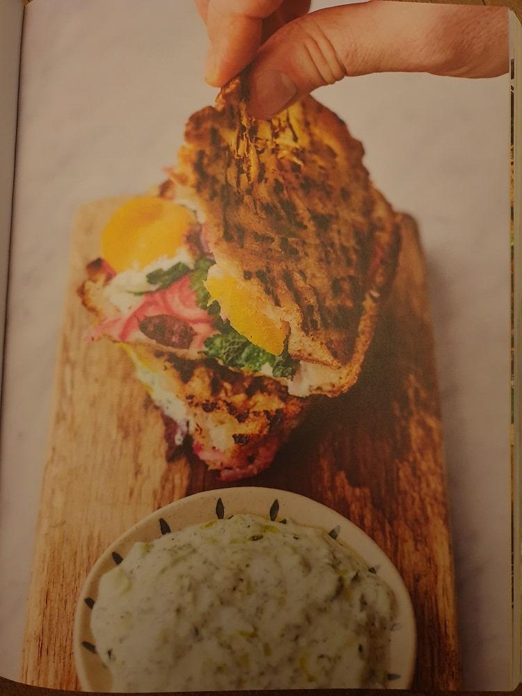 recensie VEG Jamie oliver griekse tosti