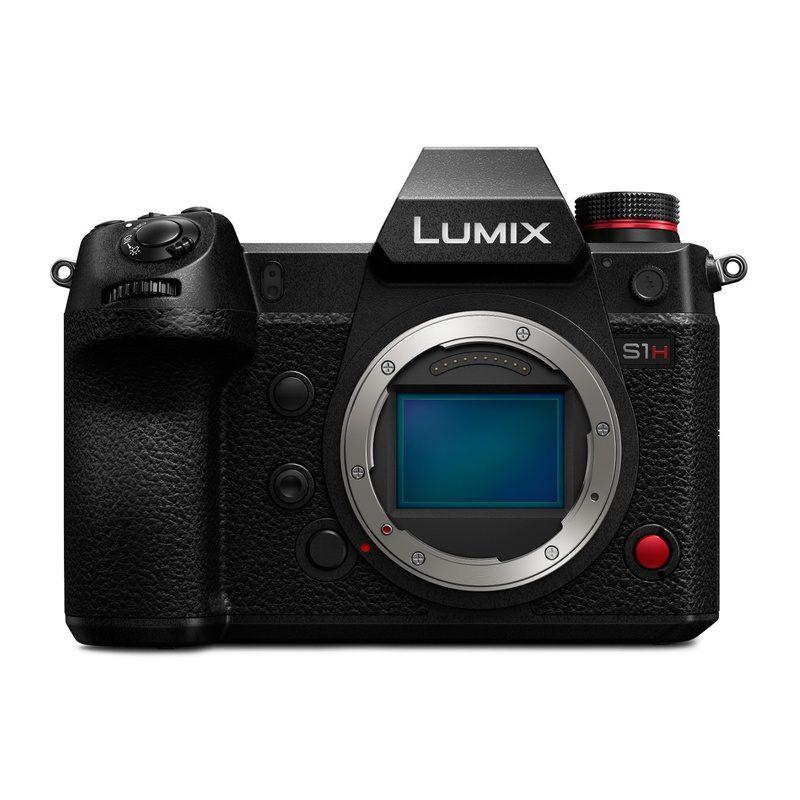 #3. Panasonic Lumix S1H