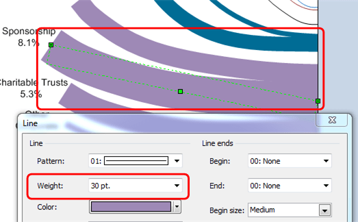 how to draw a sankey diagram scale rj45 cat6e wiring follow the money visio guy flow thickness