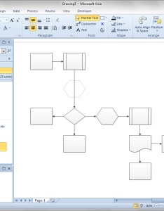 For also shift flowchart shapes automatically  visio guy rh visguy