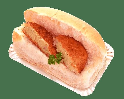 Broodje gebakken viskoek