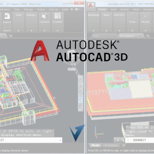 Autodesk AutoCAD 3D Training Course, Classes, and Programs