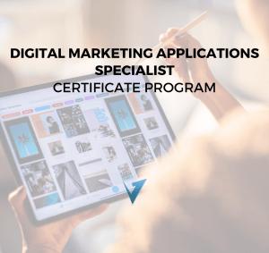 Digital Marketing Applications Program