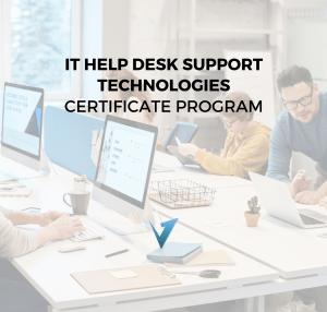 IT Help Desk Support Technologies Program