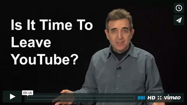 Is it Goodbye to YouTube?