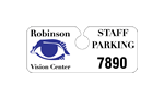 Parking Permit Hang Tags, Reflective, Static Cling Decals