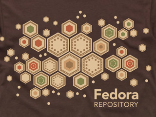 Fedora Repository t-shirt design