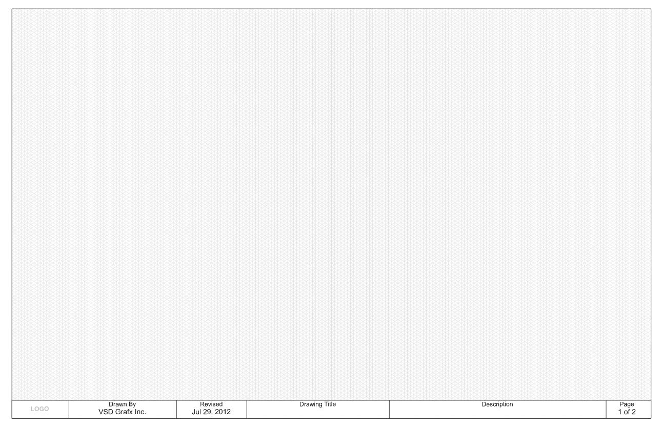 Isometric Grid Letter