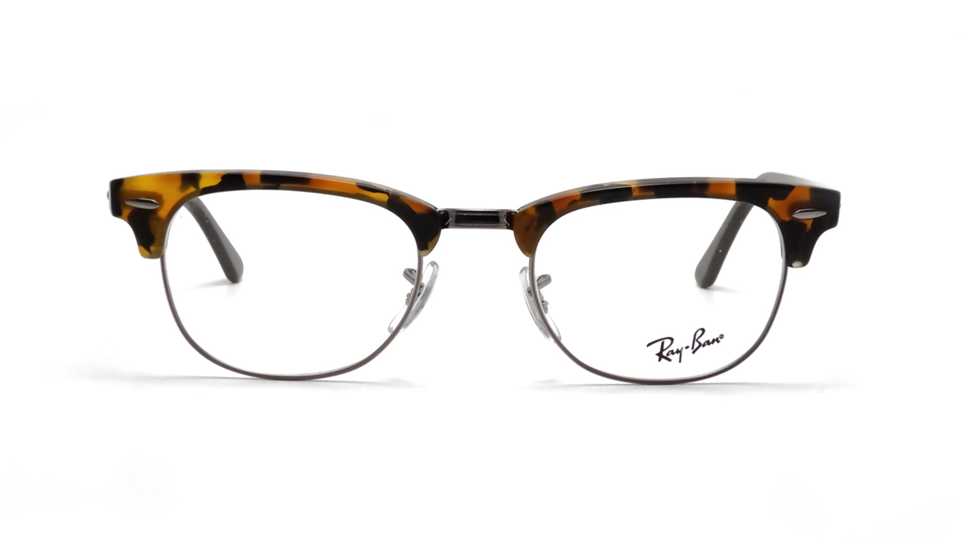 Ray Ban Clubmaster Tortoise Eyeglasses