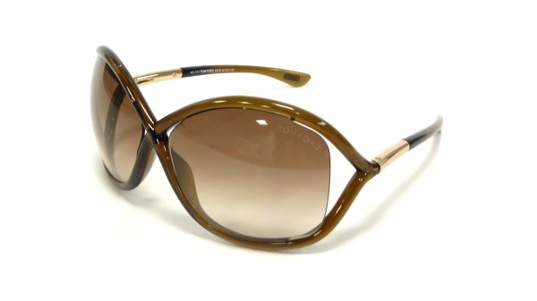 Tom Ford Whitney Brown Ft0009 692 64-14 Visiofactory