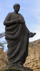 Statue de Sénèque, dans sa ville natale, Cordoue
