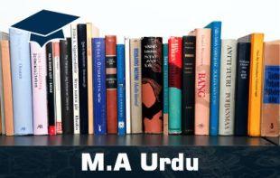 MA Urdu