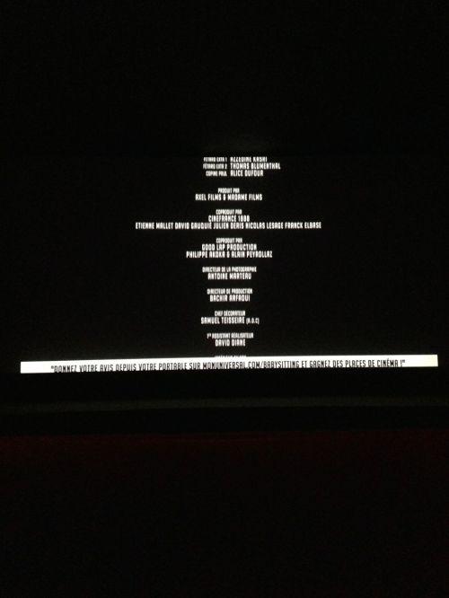 «Donnez votre avis depuis votre portable sur monuniversal.com/babysitting et gagnez des places de cinéma !»