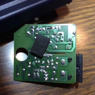 Dos du circuit imprimé.