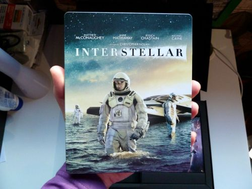 Le Steelbook Fnac d'Interstellar