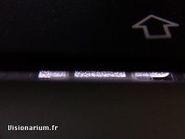 Rétro-éclairage de MacBook Pro.