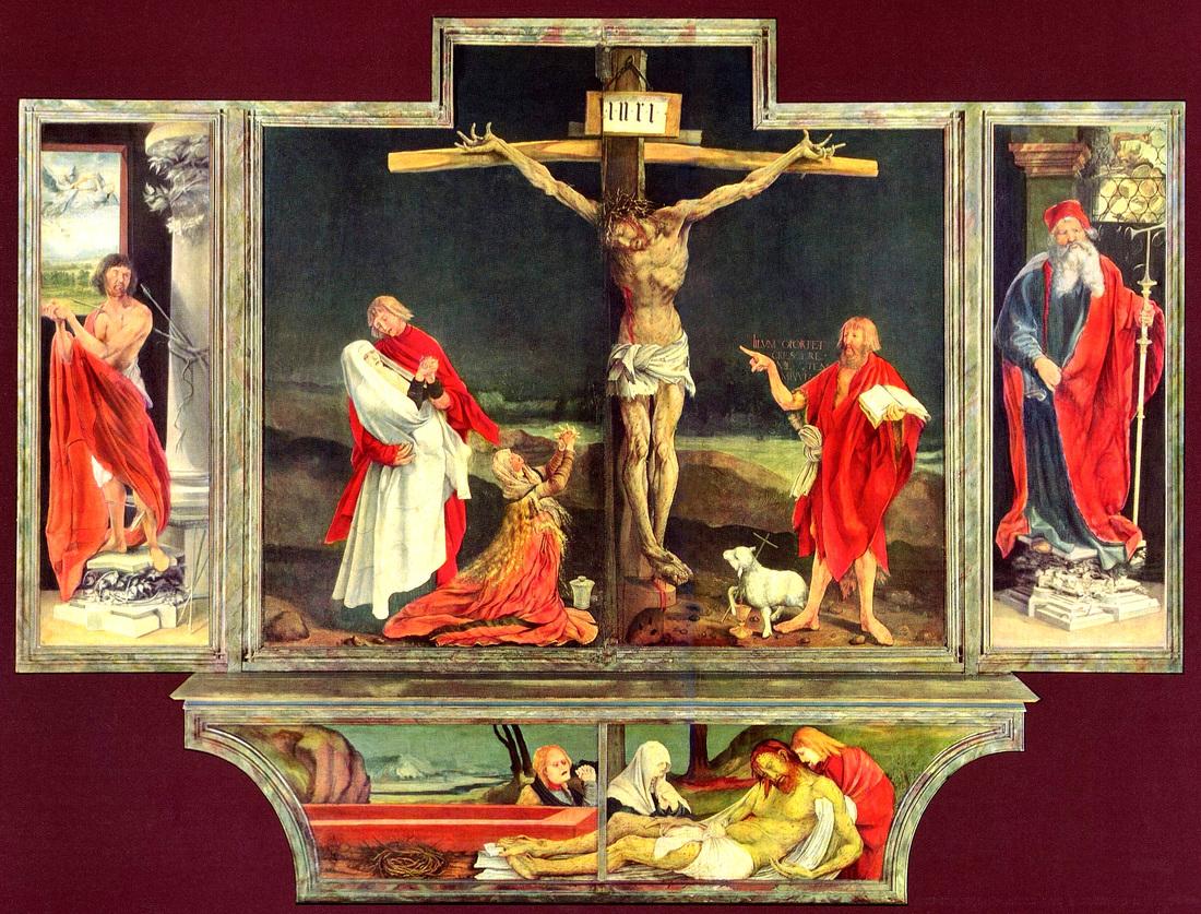 Isenheim altarpiece - First view