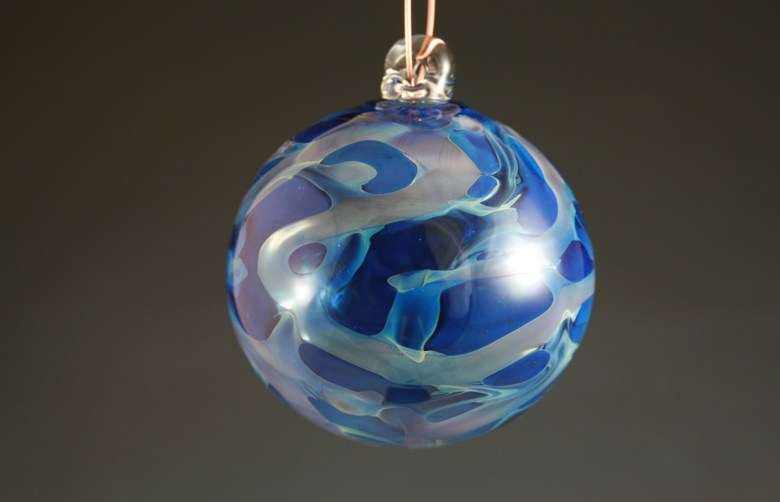 Glass Christmas Ornament
