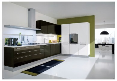 High Gloss Kitchen Cabinets Colors