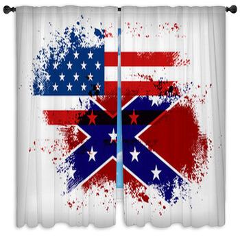 18 beautiful rebel flag window curtains