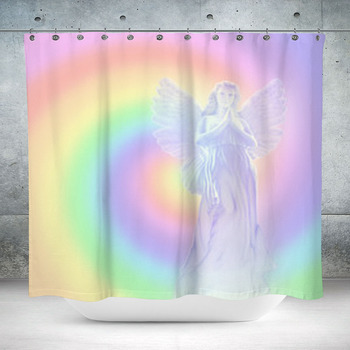 universal angel custom size shower curtain