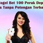 Agen Togel Bet 100 Perak Deposit Pulsa Tanpa Potongan Terbaik