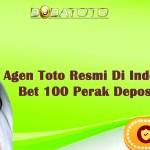 Agen Toto Resmi Di Indonesia 2021 Bet 100 Perak Deposit DANA