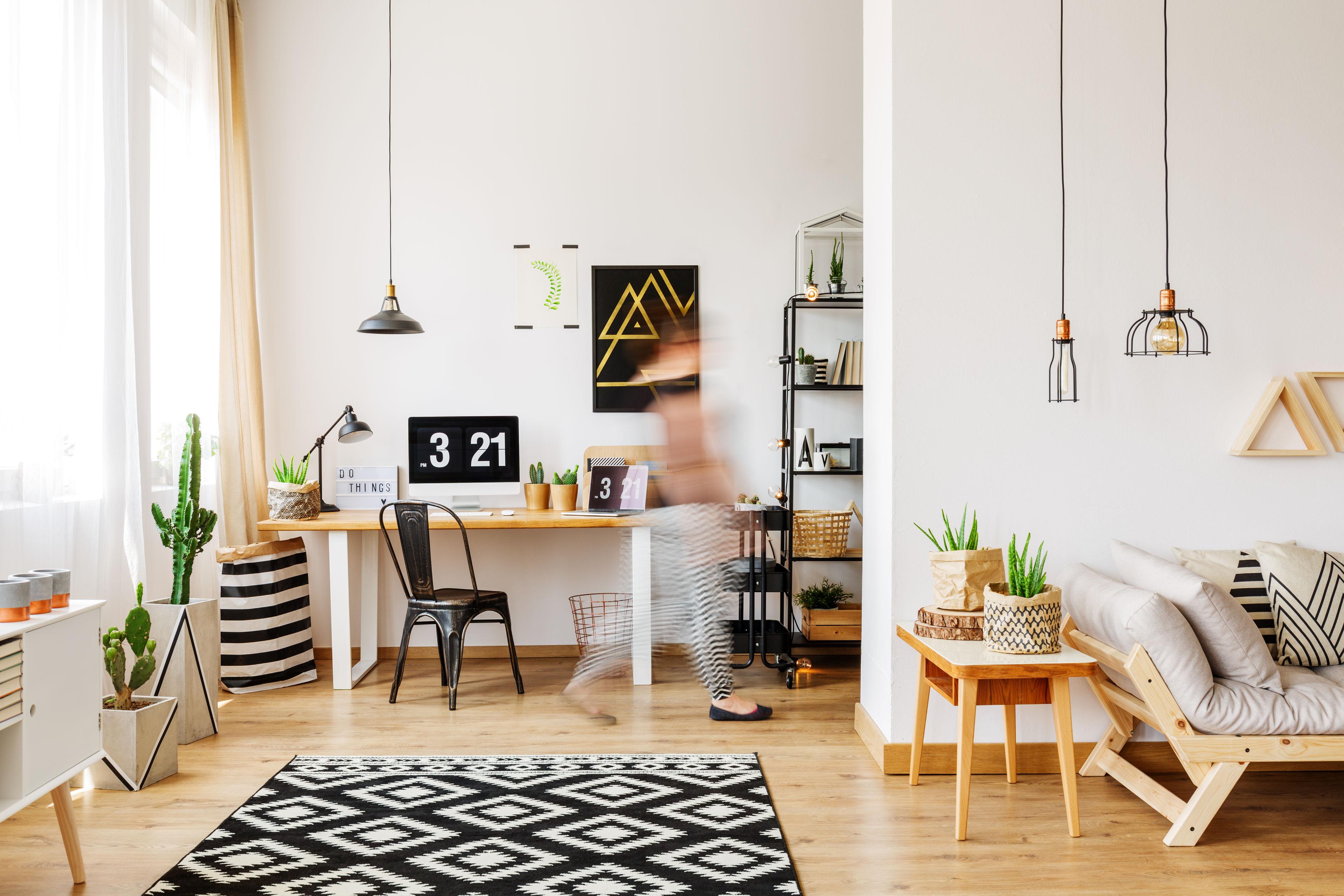 Amenager un espace de travail chez soi pour faire du home working ou home office