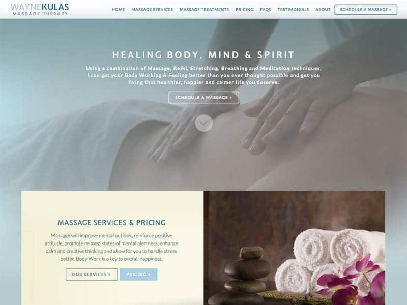Wayne Kulas Massage Therapy