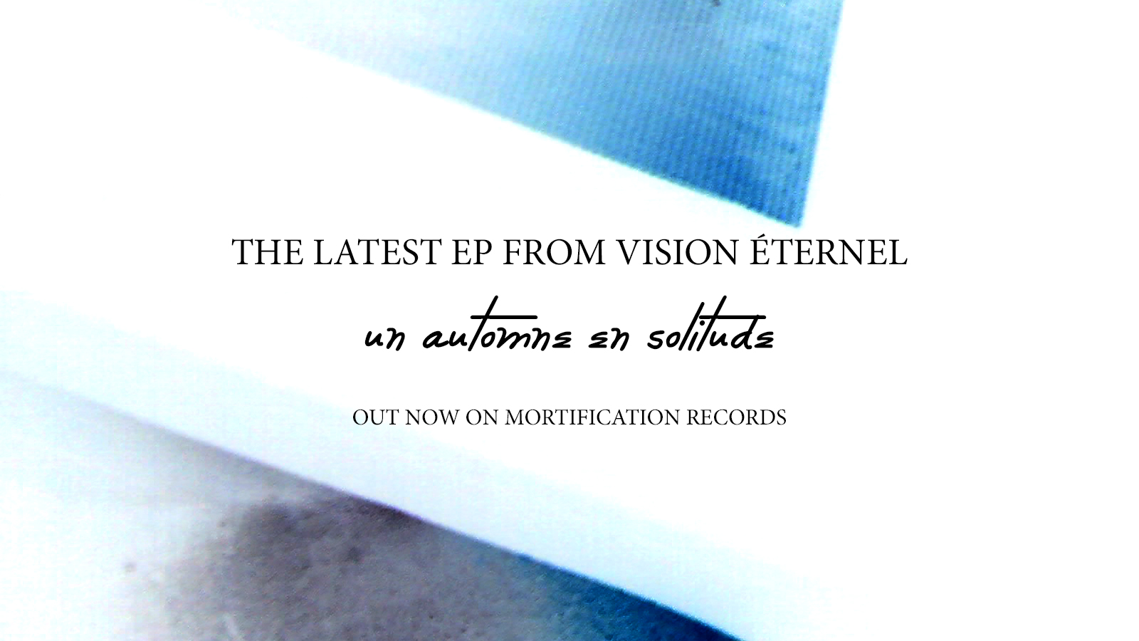Vision Éternel Un Automne En Solitude EP Is Released