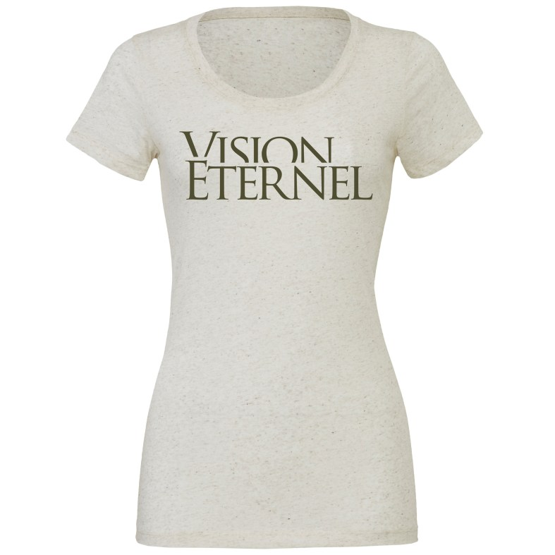 """Vision Éternel"" Ladies' T-Shirt - Jeremy Roux Design"