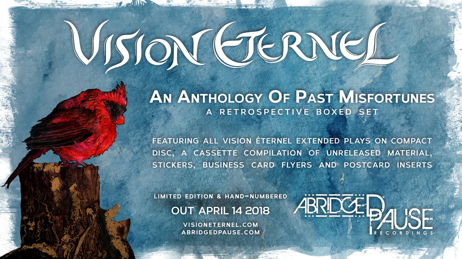 An Anthology Of Past Misfortunes Boxed Set Is Released