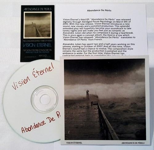 Vision Éternel Abondance De Périls Compact Disc