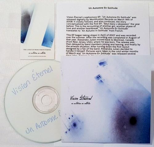 Vision Éternel Un Automne En Solitude Compact Disc