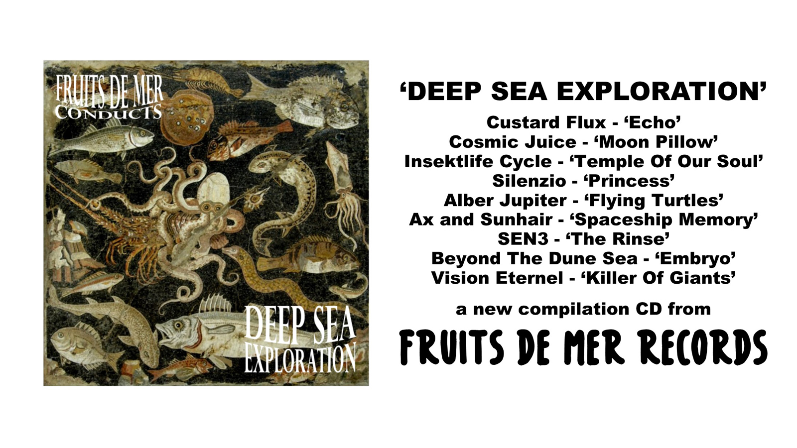 Fruits De Mer Conducts: Deep Sea Exploration Compilation Is Released