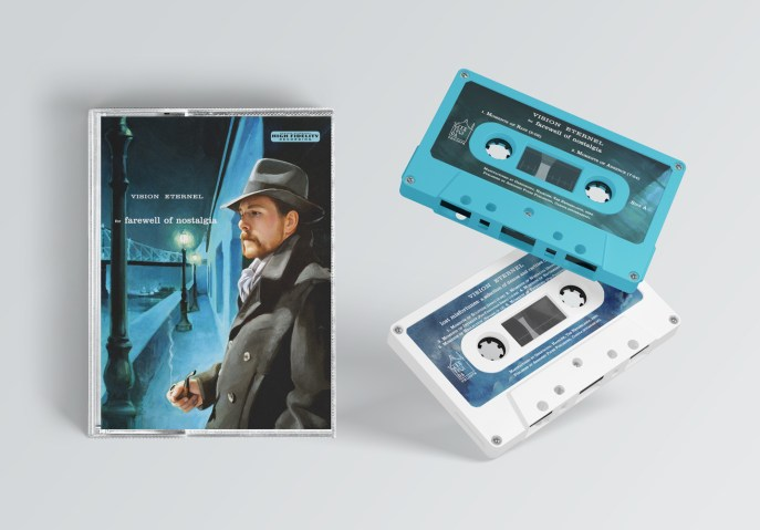 Vision Eternel For Farewell Of Nostalgia Compact Cassette Mockup