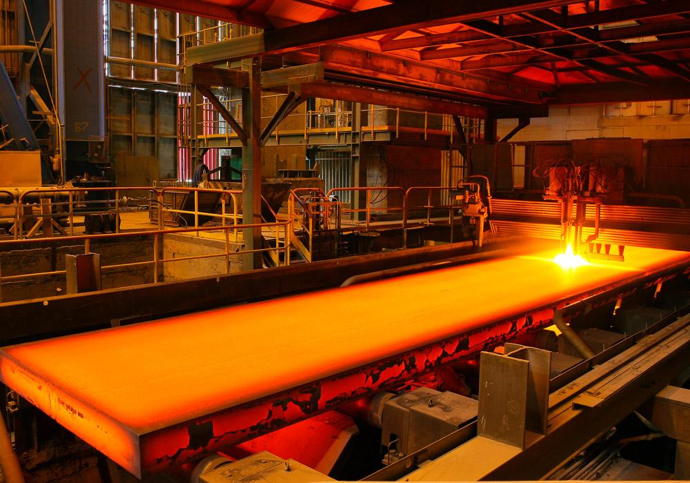 Chaine de production du secteur métallurgie