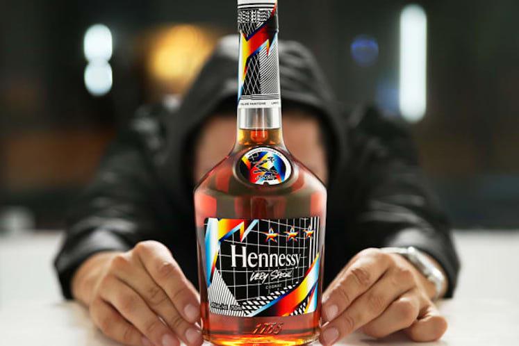 Felipe Pantone x Hennessy