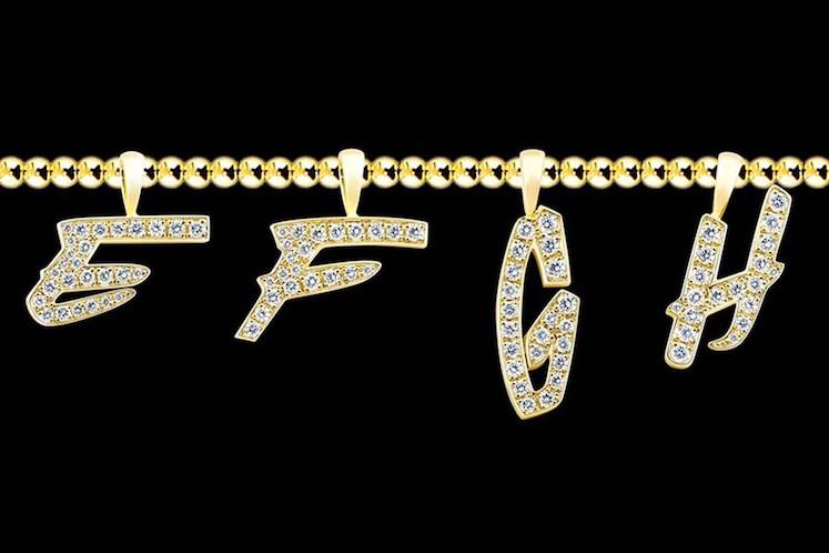 EYEFUNNY x Futura Laboratories – Pendientes Letras 6