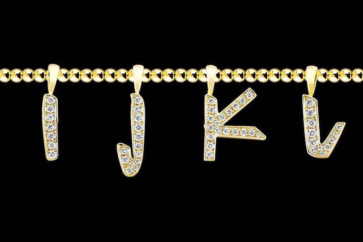 EYEFUNNY x Futura Laboratories – Pendientes Letras 7