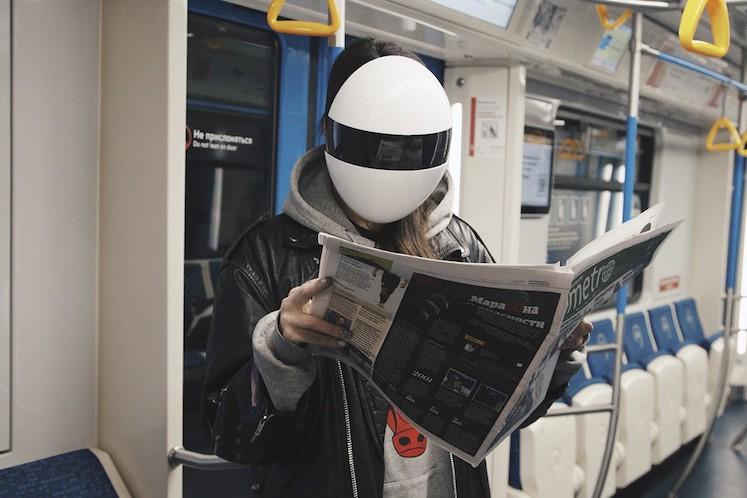 Face Masks inspiradas en Daft Punk 6