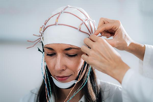 Elektroenzephalogramm eeg gehirnwellen Gehirnwellen Stimulation