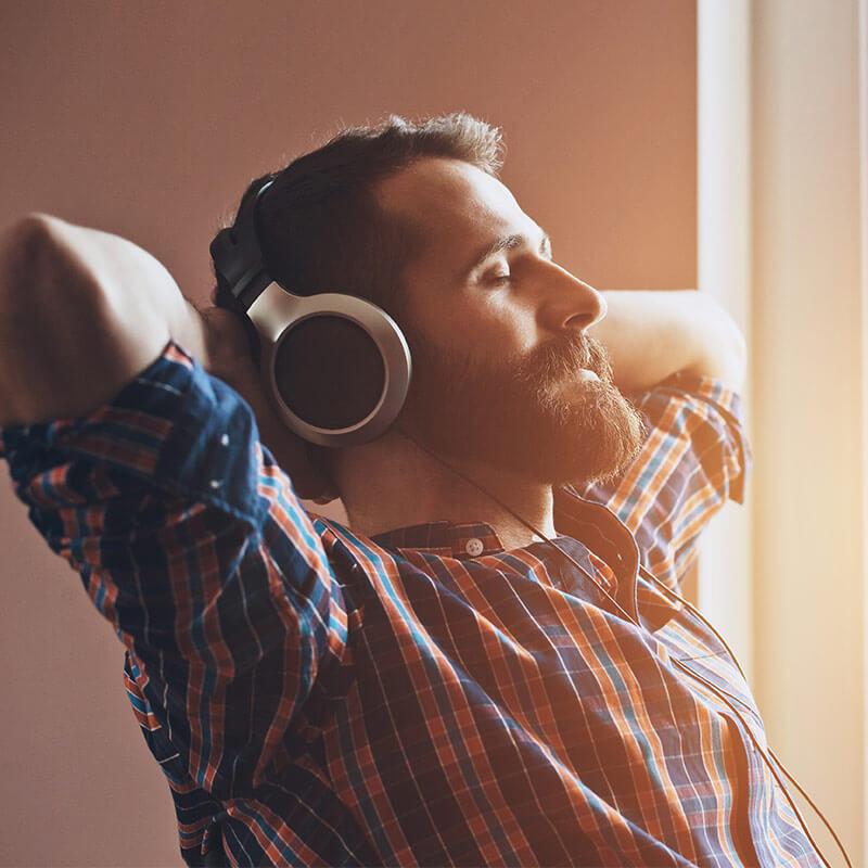 Klangreisen und Klangheilung mit binauralen beats von Visionjuice